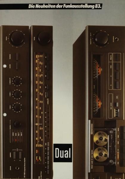 Dual Die Neuheiten der Funkausstellung 83 Prospekt / Katalog
