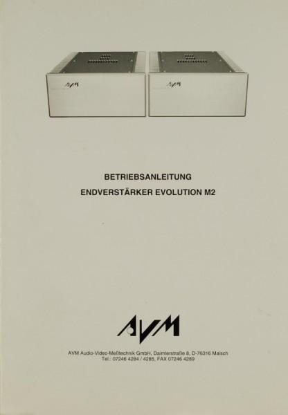 AVM M 2 Bedienungsanleitung