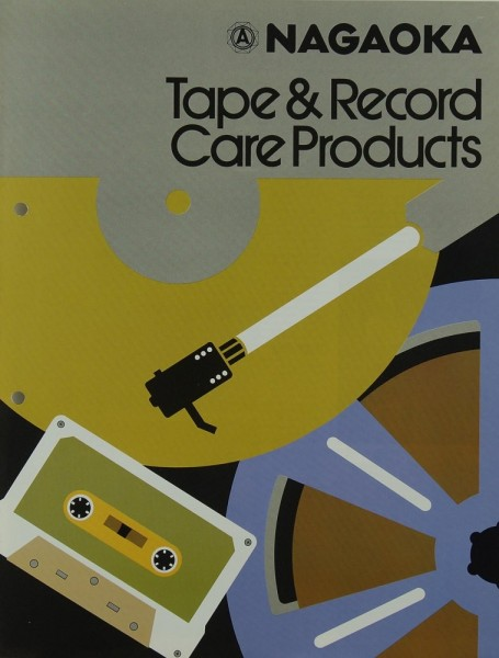 Nagaoka Tape & Record Care Products Prospekt / Katalog