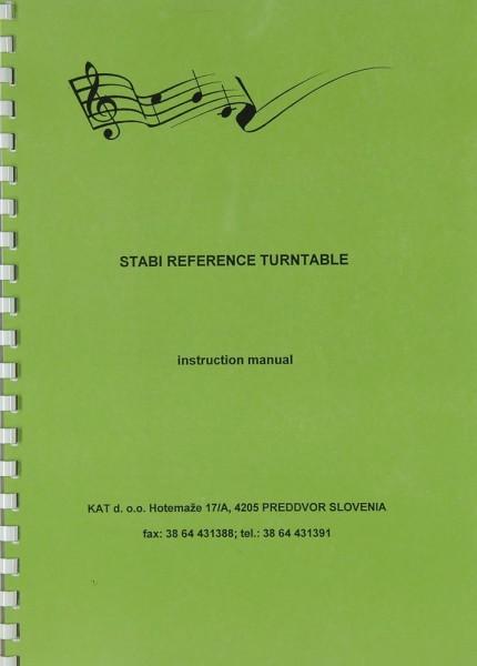Stabi Reference Bedienungsanleitung