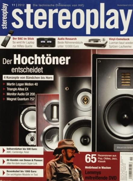 Stereoplay 11/2012 Zeitschrift