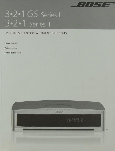 Bose 3.2.1 GS Series II / 3.2.1 Series II Bedienungsanleitung