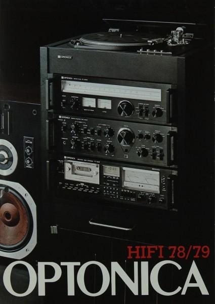 Optonica Hifi 78/79 Prospekt / Katalog