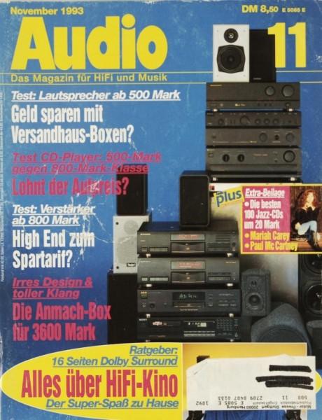 Audio 11/1993 Zeitschrift