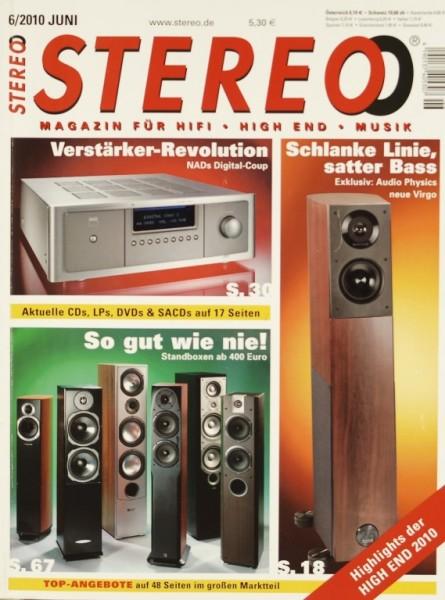 Stereo 6/2010 Zeitschrift