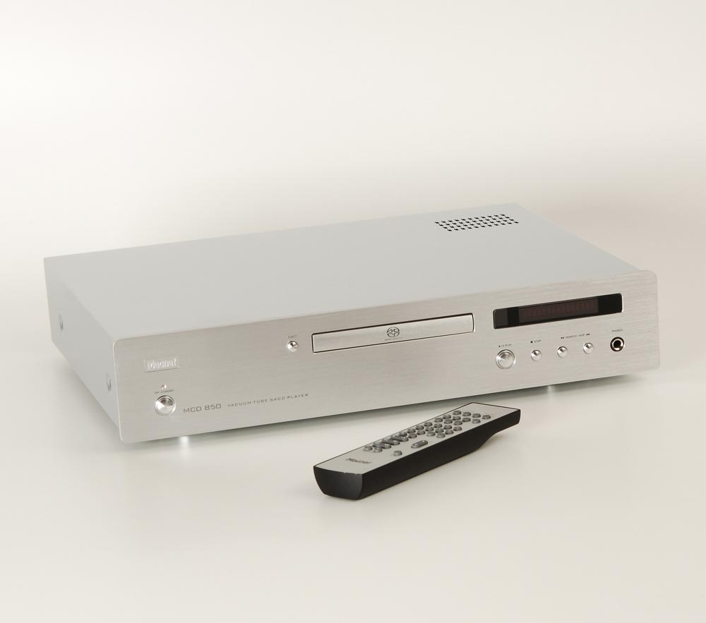 magnat mcd 850 silbern cd player cd ger te ger te. Black Bedroom Furniture Sets. Home Design Ideas