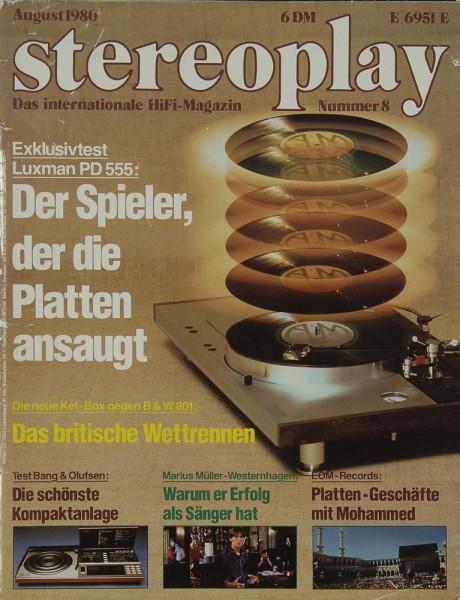 Stereoplay 8/1980 Zeitschrift