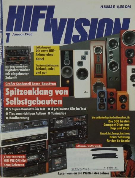 Hifi Vision 1/1988 Zeitschrift