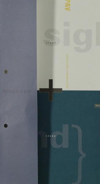 Proceed PAV (Sight + Sound) Prospekt / Katalog