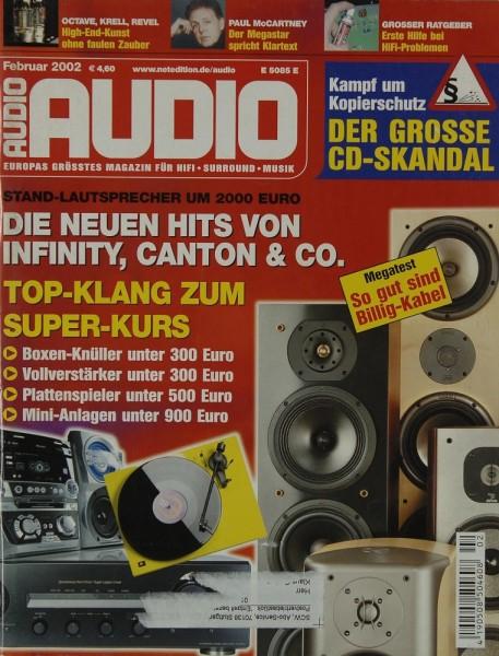 Audio 2/2002 Zeitschrift