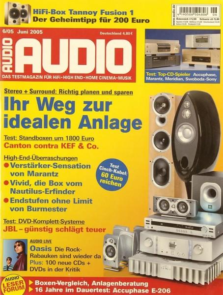Audio 6/2005 Zeitschrift