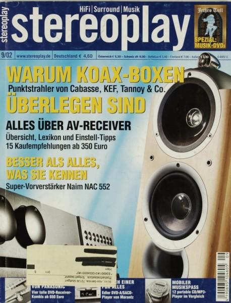 Stereoplay 9/2002 Zeitschrift