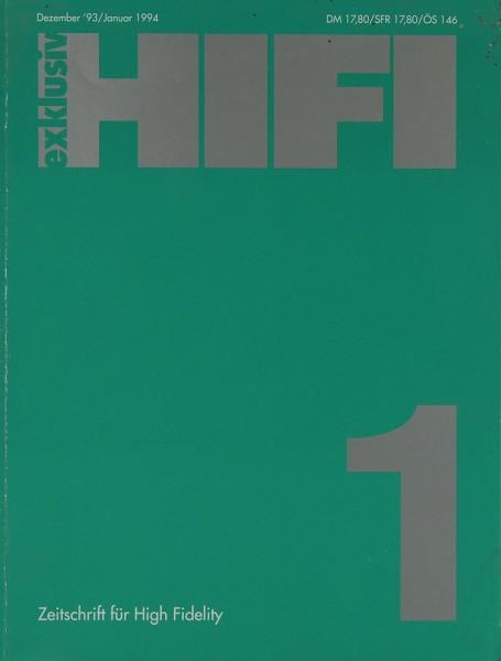 Hifi Exklusiv 1 / 1994 Zeitschrift
