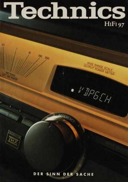Technics HiFi 97 Prospekt / Katalog
