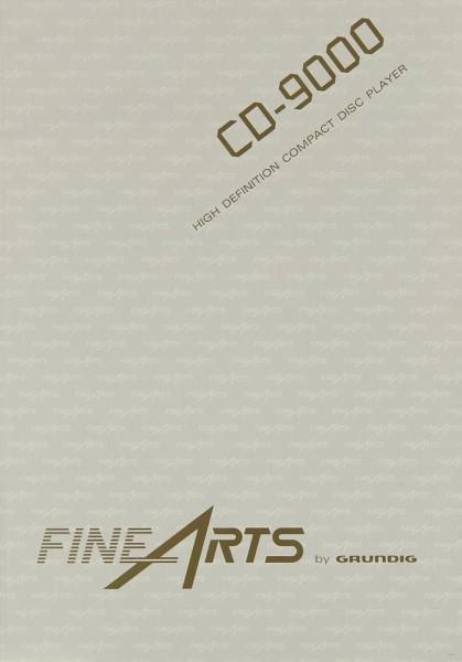 Grundig CD-9000 Bedienungsanleitung