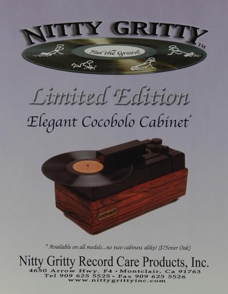 Nitty Gritty Elegant Cocobolo Cabinet Prospekt / Katalog