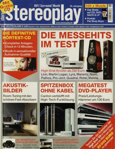 Stereoplay 6/2006 Zeitschrift
