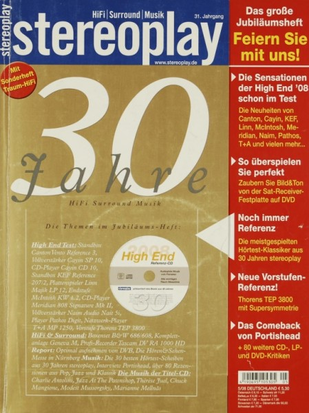 Stereoplay 5/2008 Zeitschrift
