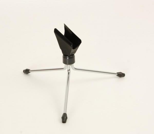 AKG ST1 Mikrofon Tischstativ schwarz mit SA9 Mikrofonklemme