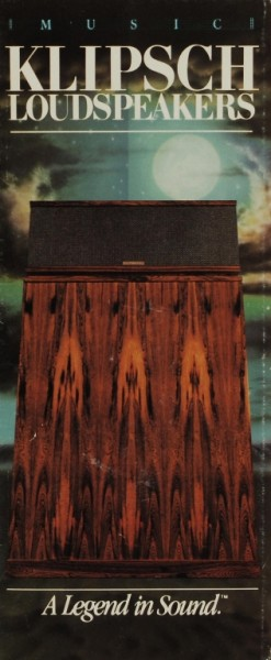 Klipsch A Legend in Sound Prospekt / Katalog