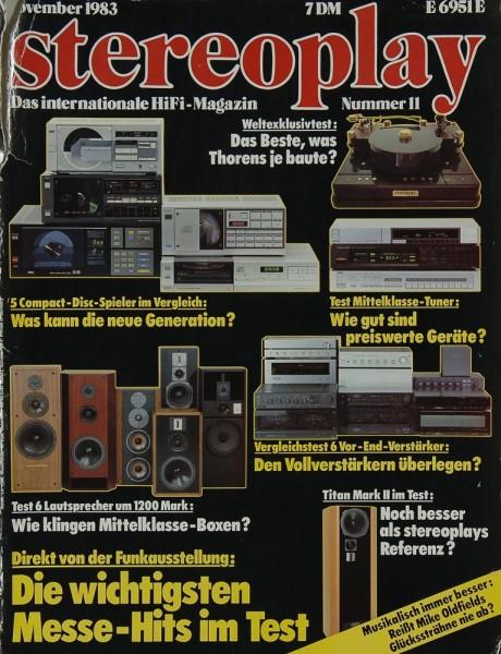 Stereoplay 12/1983 Zeitschrift