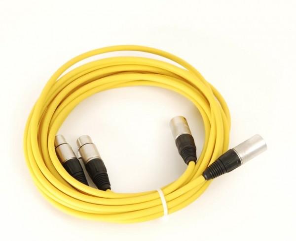Kabel XLR-Buchsen auf XLR-Stecker (Neutrik) 3.5 m