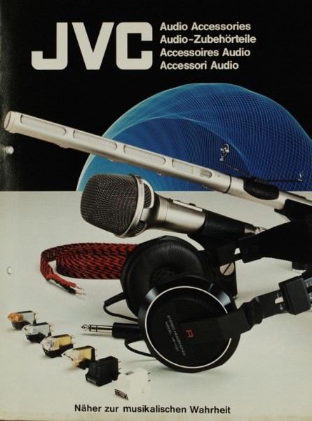 JVC Audio-Zubehörteile Prospekt / Katalog