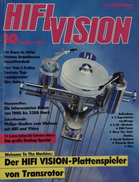 Hifi Vision 10/1991 Zeitschrift