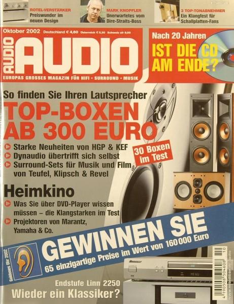 Audio 10/2002 Zeitschrift