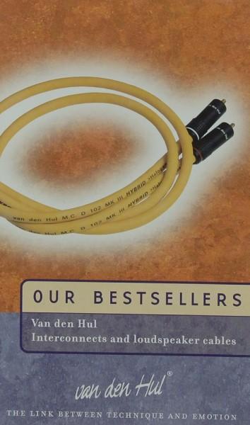 van den Hul Our Bestsellers Prospekt / Katalog