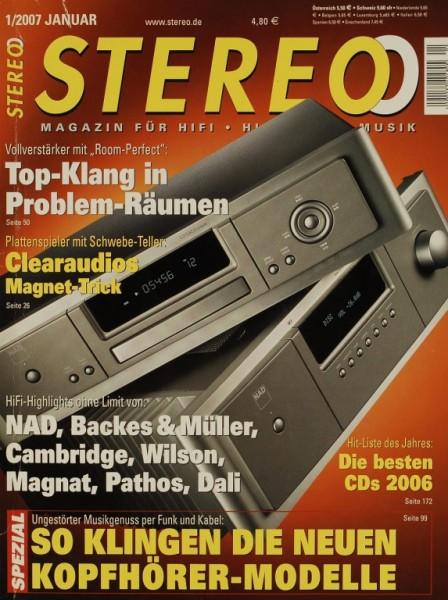 Stereo 1/2007 Zeitschrift