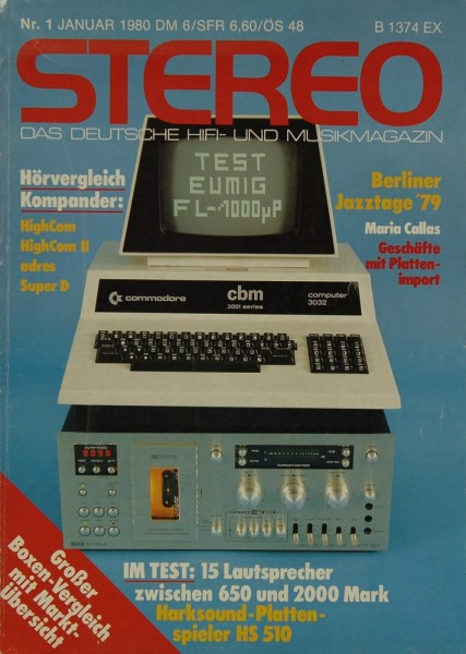 Stereo 1/1980 Zeitschrift