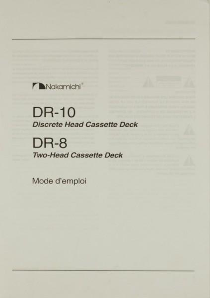 Nakamichi DR-10 / DR-8 Bedienungsanleitung