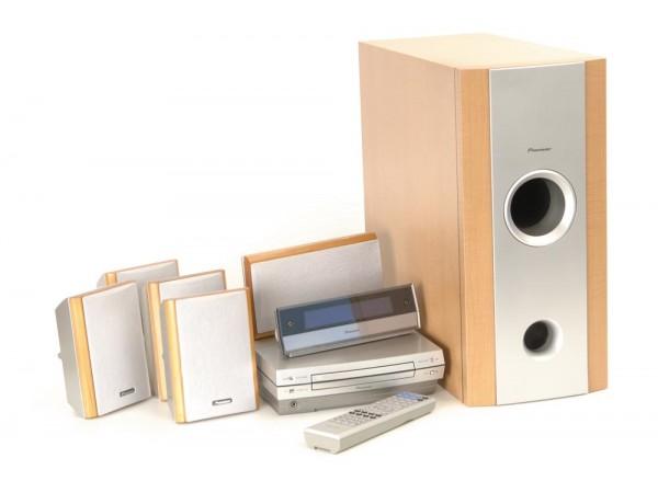 Pioneer XV-DV 88 DVD Surroundanlage mit LS