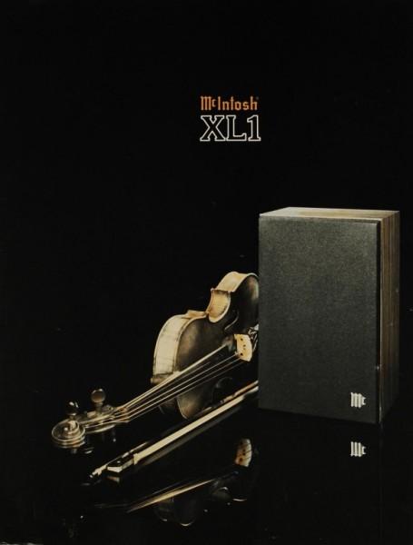 McIntosh XL 1 Prospekt / Katalog