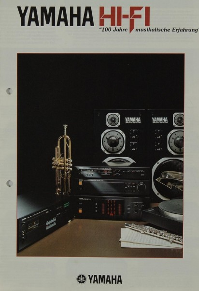Yamaha Hifi Prospekt / Katalog