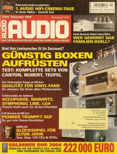 Audio 12/2004 Zeitschrift