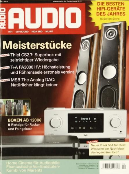 Audio 4/2013 Zeitschrift