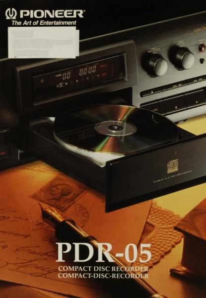 Pioneer PDR-05 Prospekt / Katalog