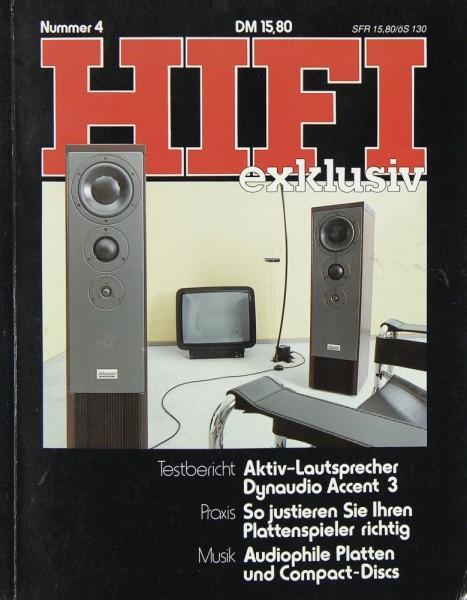 Hifi Exklusiv Nummer 4 Zeitschrift