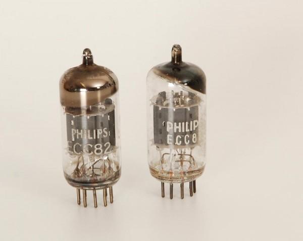 Philips ECC82 Paar