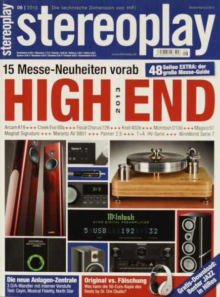 Stereoplay 6/2013 Zeitschrift