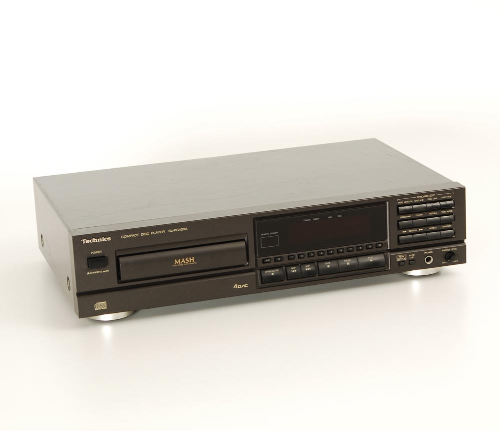 technics sl pg 420a cd player cd ger te ger te. Black Bedroom Furniture Sets. Home Design Ideas