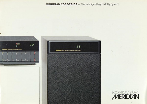 Meridian 200 Serie Prospekt / Katalog