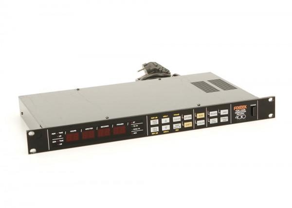 Fostex 4010 Timecode Generator Reader