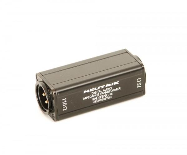 Neutrik NADITBNC-M Impedanzumformer 110-75 Ohm