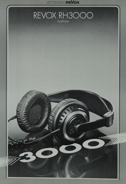 Revox RH 3000 Prospekt / Katalog