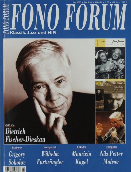 Fono Forum 6/2000 Zeitschrift