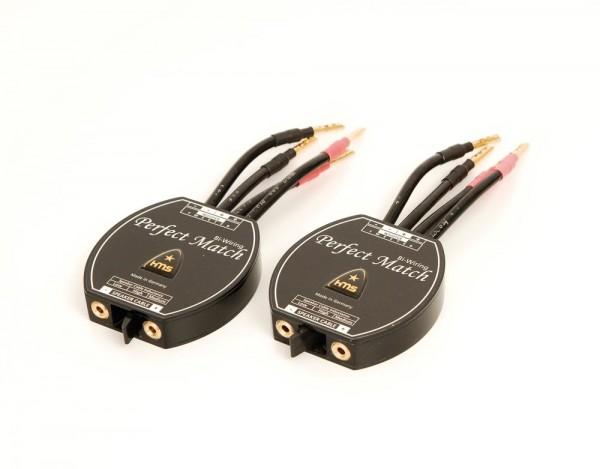 HMS Perfect Match Biwiring Adapter Paar