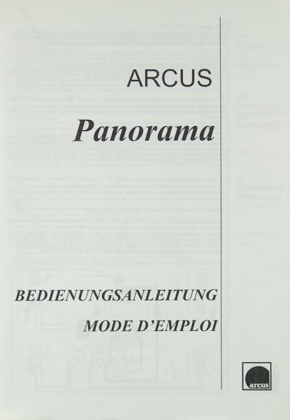 Arcus Panorama Bedienungsanleitung